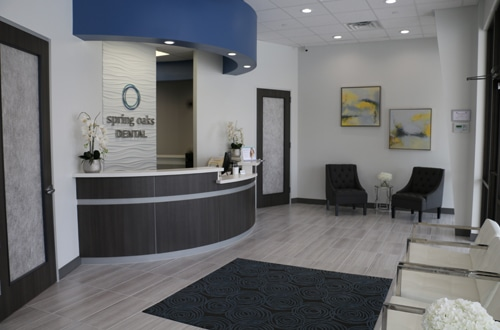 Spring Oaks Dental Waiting Room